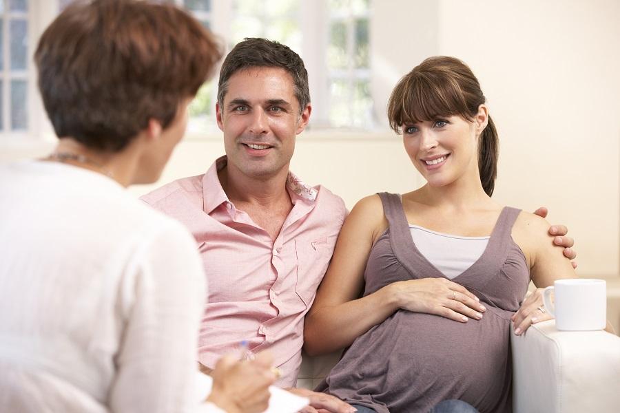 Sage-femme couple et grossesse